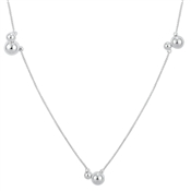 Argento Silver Neptune Long Necklace