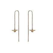 Olivia Burton 3D Bee Gold Chain Drop Earrings