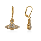 Vivienne Westwood Clotilde Gold Drop Earrings