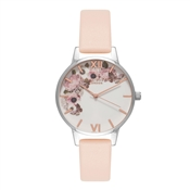Olivia Burton Signature Floral Nude Peach Watch