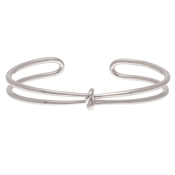 Olivia Burton Forget Me Knot Silver Cuff