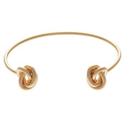 Olivia Burton Forget Me Knot Open Ended Gold Bangle