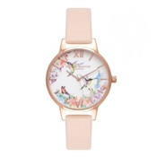 Olivia Burton Painterly Prints Hummingbird Watch