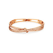 August Woods Rose Gold Knot Bracelet