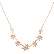 August Woods Rose Gold Inner Star Necklace