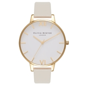 Olivia Burton Vegan Friendly Nude & Gold Watch