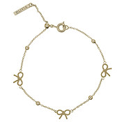 Olivia Burton Vintage Bow and Ball Gold Bracelet