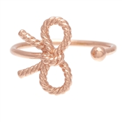 Olivia Burton Rose Gold Vintage Bow Ring