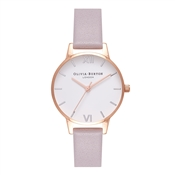 Olivia Burton Midi Dial Grey Lilac, Silver & Rose Gold Watch