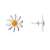 Argento Daisy Stud Earrings