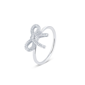 Argento Silver Bow Ring