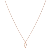 Karma Rose Gold Wing Necklace