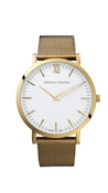 Larsson & Jennings  Lugano 40mm Gold Watch