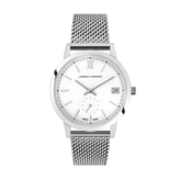 Larsson & Jennings  Saxon 33mm Silver Watch