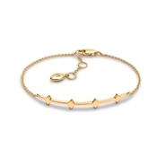 Missoma Gold Double Arrow Bracelet
