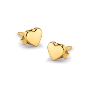 Missoma Gold Double the Love Studs