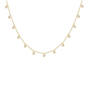Missoma Gold Interstellar Drop Necklace