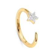 Missoma Gold Nova Star Ring