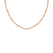 Missoma Rose Gold Short Bobble Chain