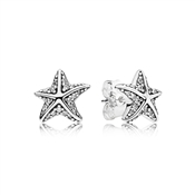 PANDORA Tropical Starfish Stud Earrings