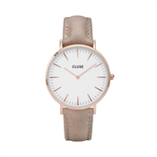 CLUSE La Bohème Rose Gold & Hazelnut Watch