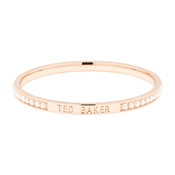 Ted Baker Clem Narrow Pearl Band Rose Gold Bangle