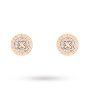 Ted Baker Crystal Mini Button Earrings