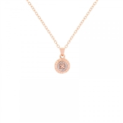 Ted Baker Crystal Mini Button Necklace