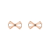Ted Baker Sidony Sweetie Bow Rose Gold Earrings