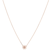Karma Rose Gold Daisy Necklace