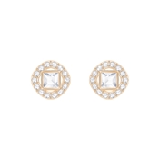 Swarovski Angelic Square Rose Gold Earrings