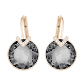 Swarovski Bella V Rose Gold & Grey Earrings