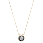 Swarovski Bella V Rose Gold & Grey Pendant