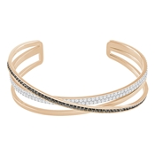Swarovski Grey & Rose Gold Hero Cuff