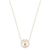 Swarovski Hollow Small Rose Gold Crystal Pendant