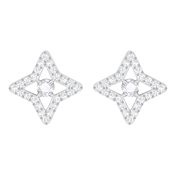 Swarovski Sparkling Dance Star Stud Earrings