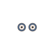 Swarovski Crystal Wishes Evil Eye Stud Earrings