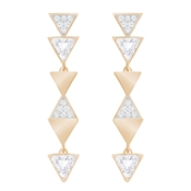 Swarovski Heroism Rose Gold Earrings