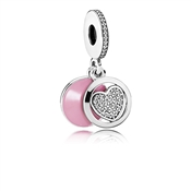 PANDORA Devoted Heart Pendant Charm