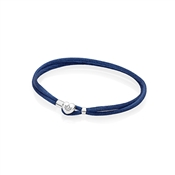 PANDORA Blue Moments Fabric Cord Bracelet