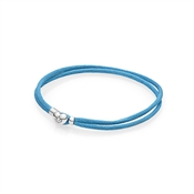 PANDORA Turquoise Moments Fabric Cord Bracelet