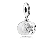 PANDORA Friendship Star Pendant Charm