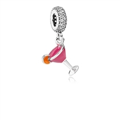 PANDORA Fruity Cocktail Pendant Charm