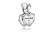 PANDORA Hearts of Friendship Pendant Charm
