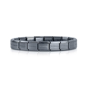 Nomination Hematite Classic Composable Bracelet