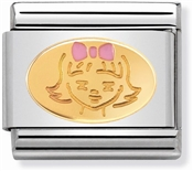 Nomination Gold Little Girl Charm
