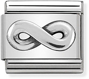 Nomination Silver Infinity Charm