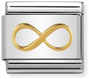 Nomination Gold Infinity Charm