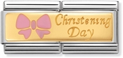 Nomination Pink Christening Day Double Charm