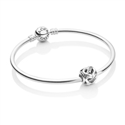 PANDORA Ribbons of Love Bangle